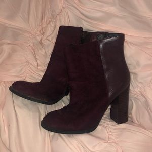 Circus by Sam Edelman Shoes - maroon circus booties